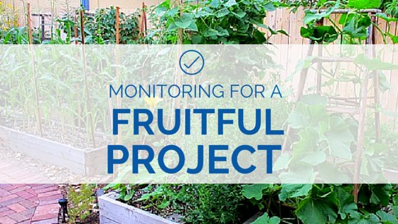 Monitoring for a Fruitful Project